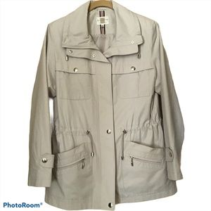 Gallery Neutral/Light Beige Water Resistant Jacket